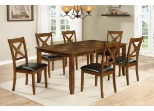 D65130 Table, 4 Chairs,Jerusalem Furniture