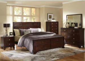 B2180 Queen panel bed, Dresser, mirror, chest, 1 Night stand, FREE QUEEN BOX, MATTRESS