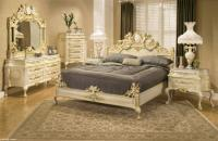 French Provincial King Bed